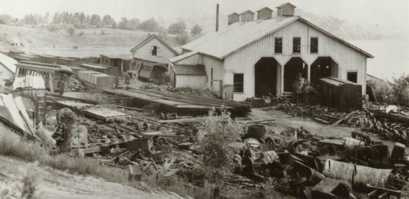 Scrapping in Wiscasset Yard